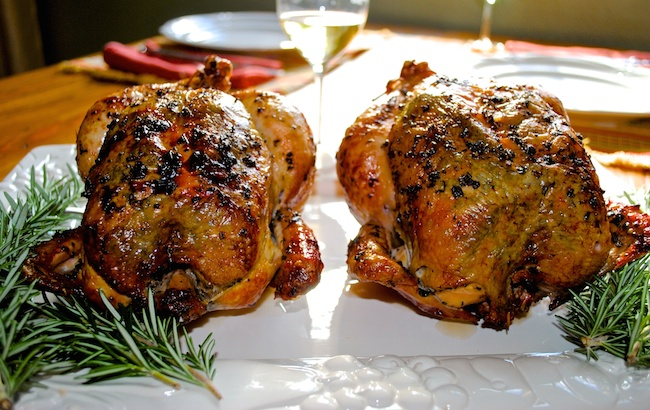 Rotisserie Herb Chicken