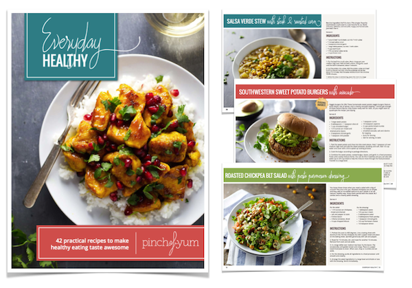 Everyday Healthy E-Cookbook